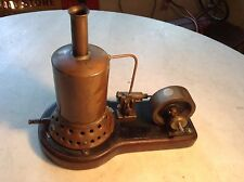 Antique Toy Steam Engine Brass Boiler