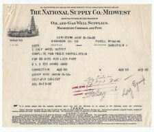 1926 Bhd, The National Supply Co.-Midwest, Oil & Gas Well Supplies, Lewiston, Mt