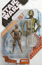Star Wars 30th Anniversary Saga Legends RA-7 (Hasbro, 2007) New on Card
