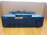 Pioneer A-404R Stereo Integrated Amplifier (1995-96). With remote control.