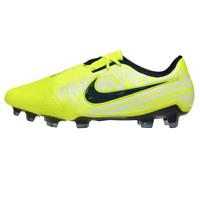 Nike Mens Cleats Size 13 Phantom Venom Elite FG Volt Obsidian Soccer AO7540-717
