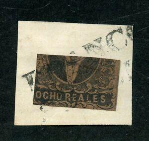 MEXICO HIDALGO 1861 SCOTT# 11c FOLLANSBEE# 11 1/2 FINELY USED AS SHOWN