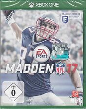 Madden NFL 17 pour xbox one-EA sports football-NEUF & OVP-version allemande!