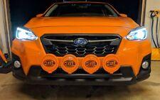 Fits 2018 Subaru Impreza Sport SSD RALLY LIGHT BAR (Bull,Nudge Bar) 4 Light Tabs
