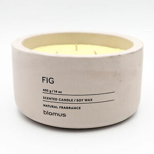 Blomus Triple Wick Scented Candle Fig 400g - NEW - Damaged Box
