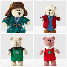 2016 Starbucks Limited Edition Christmas  Bearista Teddy Bears Plush 1 set 4 pcs