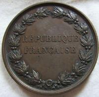 MED9898 - MEDAILLE CONSERVATOIRE DE MUSIQUE & DECLAMATION 1875 SOLFEGE