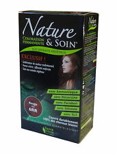 Sante Verte Nature & Care Auburn (7RV) Permanent Haircolor -100% Grey Coverage