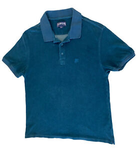 Vilebrequin Polo Shirt Size XL Dark Green Terry