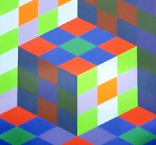Victor Vasarely, Koeb-MC 1970, Hand Signed Lithograph 5/25