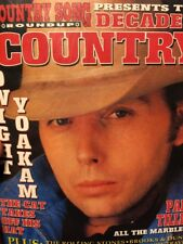 Country Song Roundup Magazine Decade Of Country Dwight Yoakam