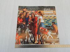 BROCHURE DEPLIANT ORIGINALE PIAGGIO 1978 CIAO BRAVO BOXER