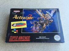 SIGILLATO Actraiser 2 Pal Snes Super Nintendo Nes No Famicom Megaman Whirlo