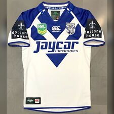 NRL Canterbury Bulldogs 2013 Home Jersey. Size S, Excellent Condition.