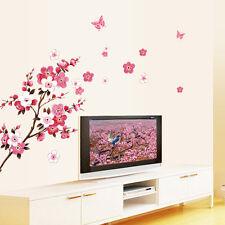 Plum Flower Removable Bedroom Art Mural Vinyl Wall Sticker DIY Decal Home Decor
