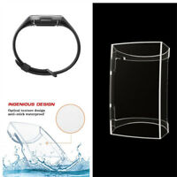 Watch Screen Case Cover Transparent Clear TPU Protector For Fitbit Charge 3 New