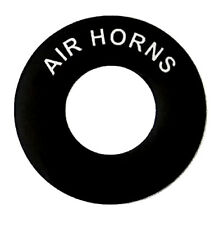 AIR HORNS - Lucas Toggle Switch Round Dash Tag - Classic Car Kit Hot Rod