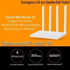 Originale Xiaomi Mi Wifi Router 3C 16 MB ROM 300 Mbps 2.4 Con 4 Antenne Wireless