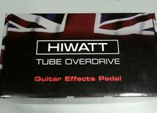 Hiwatt tube overdrive pedal 12ax7 tube (50% off limited time)