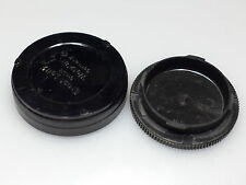 LEICA M BODY AND LENS CAPS EXCELLENT