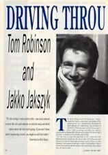 Tom Robinson Jakko Jakszyk 'Guitarist' Interview Clipping