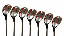 "Senior Men's Majek Golf All Hybrid Full Set (5-SW) Senior ""A"" Flex Utility Clubs"