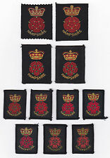 SCOUTS OF BRITISH / UNITED KINGDOM - UK SCOUT HAMPSHIRE COUNTY BADGE (11 VAR)
