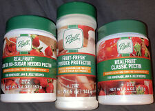 Lot Of 3 Ball Products: Real Fruit Pectin, Low Sugar, Produce Protector, NEW