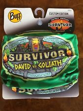 SURVIVOR BUFFS: David vs Goliath Green Tiva Tribe Buff - New On Display