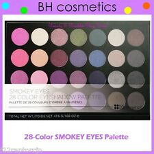 NEW BH Cosmetics 28-Color SMOKEY EYES Eye Shadow Palette FREE SHIPPING Smoky NIB