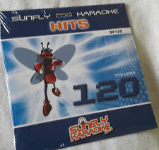 Karaoke cd+g disc, Sunfly  Hits Vol 120, see Descript 16 tracks/arts