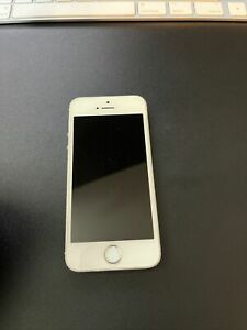 Apple iPhone 5s - 32GB - Silver (AT&T) A1533 (GSM)
