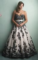 New Bridal Wedding Dress Party Prom Quinceanera Formal Bridesmaid Dresses Gown