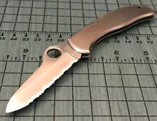 Spyderco 1003R-SER Clipit Hunter Lockback Folding Knife RH SpyderEdge BLUE BOX