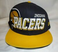 Indiana Pacers NBA Basketball Hardwood Classics Spellout Snapback Hat