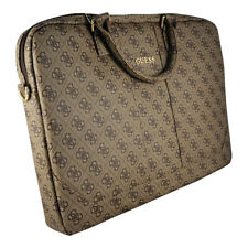 "Genuine GUESS 4G 15"" Computer Bag for Laptop and Tablets Brown"