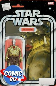 STAR WARS #10 (2021) 1ST PRINTING CHRISTOPHER ACTION FIGURE VARIANT COVER