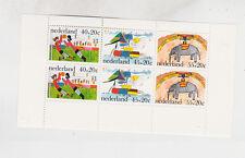 1976 child welfare Sc B529a mini sheet Mnh f1026