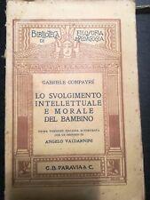 LO SVOLGIMENTO INTELLETTUALE E MORALE DEL BAMBINO G. CAMPAYRE'