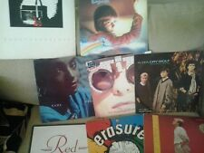 COLLECTIBLE JOB LOT 80s LPS / 12 inch records