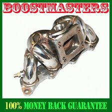 For 89-98 NISSAN 240sx S13 S14 KA24DE Top Mount TURBO STAINLESS STEEL MANIFOLD