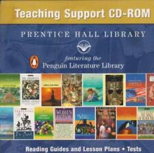 Prentice Hall Library Teaching Support PC MAC CD guides lesson plans class tests