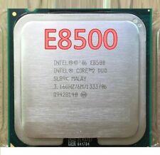 Intel Core 2 Duo E8500 3.16GHz Dual-Core LGA775 Processor CPU