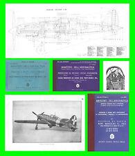 COLLECTION - MACCHI C202 FOLGORE AVIAZIONE AERONAUTICA AIRCRAFT Manual - DVD