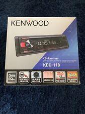 kenwood cd receiver KDC-118