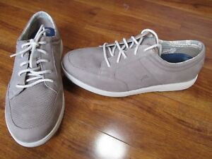 NEW Tommy Bahama Relaxology Caicos Authentic Shoes MENS size 10.5 Taupe $150.