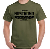 Nostromo T-Shirt Mens Alien Movie Unisex Top Halloween Covenant Prometheus