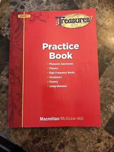 Treasures Reading Grade 1 Practice Workbook