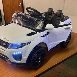 12v Elec official licenced Range Rover evoque kids Ride on! parental control