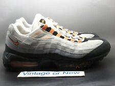 Nike Air Max '95 Bright Mandarin Orange Grey Running Shoes 2011 sz 13